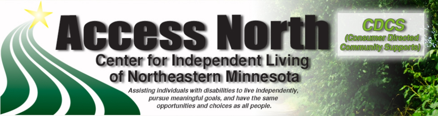 Access North Logo Consumer Direction Community Supports